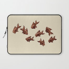 Coffee Bean Sharks Laptop Sleeve