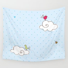 cotton cloud Wall Tapestry
