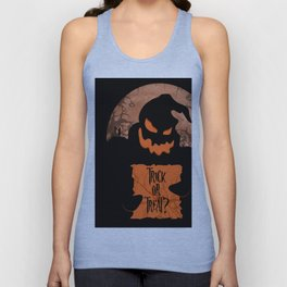 trick or treat Unisex Tank Top