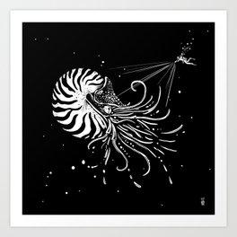 Nautilus Dominus Art Print