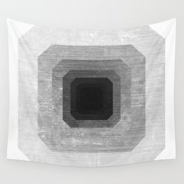metal polygon Wall Tapestry