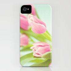 Tip Toe Through the Tulips Slim Case iPhone (4, 4s)
