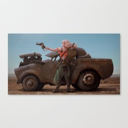 Fury Road Girl Canvas Print