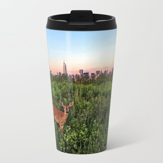 The NYC Deer Travel Mug