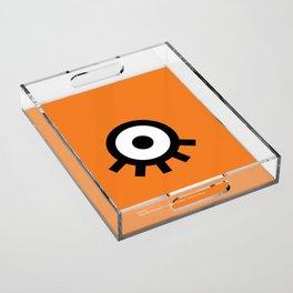 A Clockwork Acrylic Tray