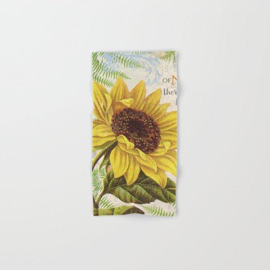 Vintage Flower #22 Hand & Bath Towel