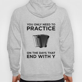 Accordeon Player Musician Music Orchestra Director Design Hoody
