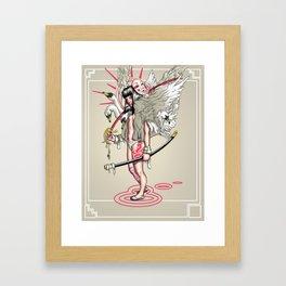 Sword of the Swans Framed Art Print