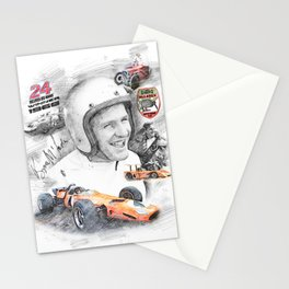 Bruce McLaren Stationery Cards