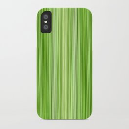 Ambient 3 in Key Lime Green iPhone Case