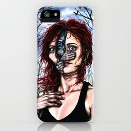 The sphynx inside me iPhone Case