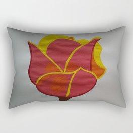 Handmade drawing of flower Rectangular Pillow