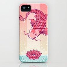 Perseverance // Koi & Lotus Slim Case iPhone (5, 5s)