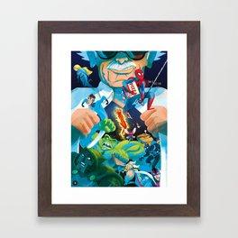 The Marvelous Mr. Lee Framed Art Print