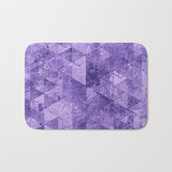 Abstract Geometric Background #17 Bath Mat