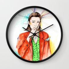 Red boy Wall Clock