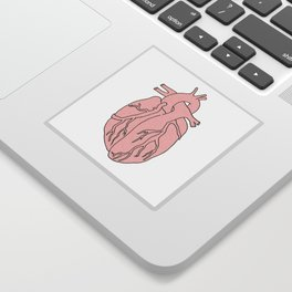 simple heart Sticker
