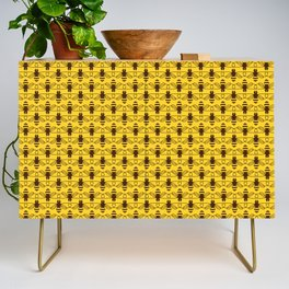 Be safe - save bees Credenza