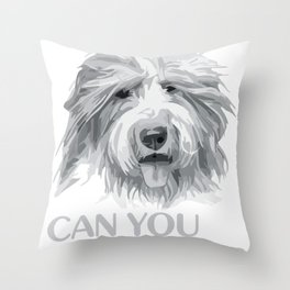 Can you see me Animal Portrait T- Throw Pillow