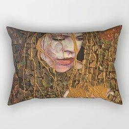 Tree forest Living Energy Nature  Rectangular Pillow