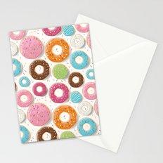 Donut pattern 002 Stationery Cards