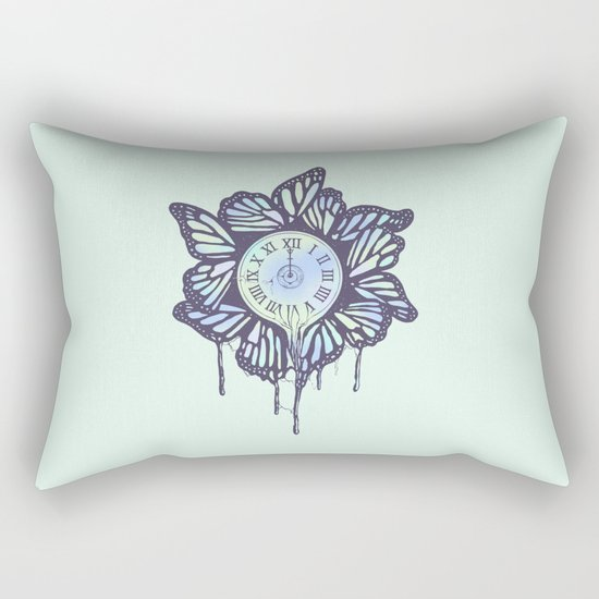 Never Let Go (A Study of Time) Rectangular Pillow
