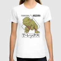 t rex T-shirts featuring T-rex by tokyon