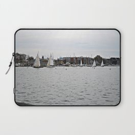 The Harbor, Annapolis - View I Laptop Sleeve