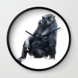 Sitting, waiting, wishing Wall Clock