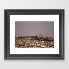 Sacré Coeur Framed Art Print
