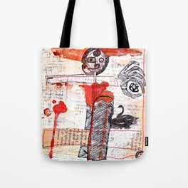 Our Pigeon Post Tote Bag