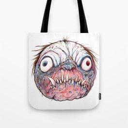 Rotten Head - Blue Nibbler Tote Bag