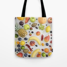 Collection of summer fruits Tote Bag