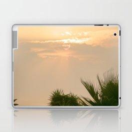 cloudy sky in the oasis Laptop & iPad Skin