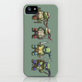 TMNT iPhone Case