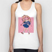 magical girl Tank Tops featuring Salty Magical Girl by eriphyle