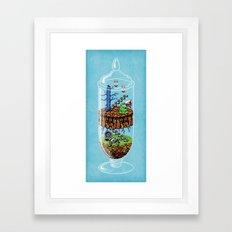 Belmont Terrarium Framed Art Print