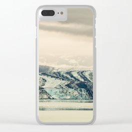 Dirty Glacier Clear iPhone Case