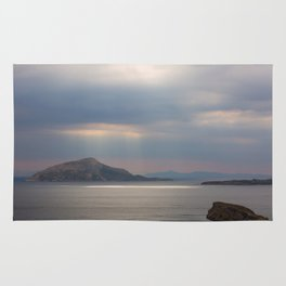 Sea View From Poseidon Temple Rug