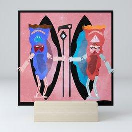 Take a Slice Mini Art Print