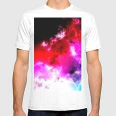 Space Mens Fitted Tee White MEDIUM