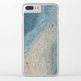 Topographical Clear iPhone Case