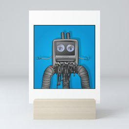 They Are Watching Mini Art Print