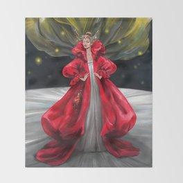 Faerie Queen Throw Blanket