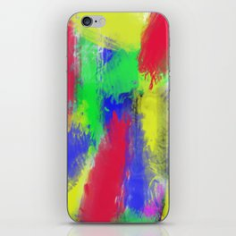 Abstract colorful pattern iPhone Skin