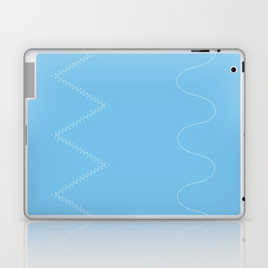 Backcountry Skiing Laptop & iPad Skin