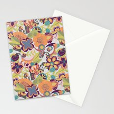 Birds in the fall Stationery Cards