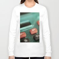 math Long Sleeve T-shirts featuring Math by Big Tortoise Art (Art by JasonKoelliker)