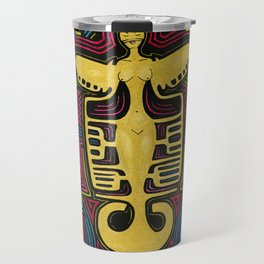 Colombia Art  Travel Mug