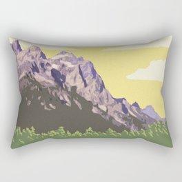 Grand Teton National Park Rectangular Pillow
